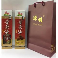 源順 優級純100%苦茶油(450ml) TA450*2入組(附提袋)