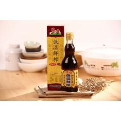 低溫鮮榨黑麻油(570ml) (PS570)