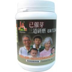 三道研磨黑芝麻已催芽粉(300公克) (SSQ3303A)